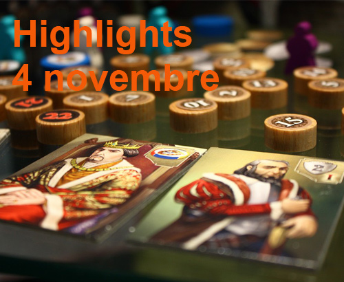 Highlights 4 novembre