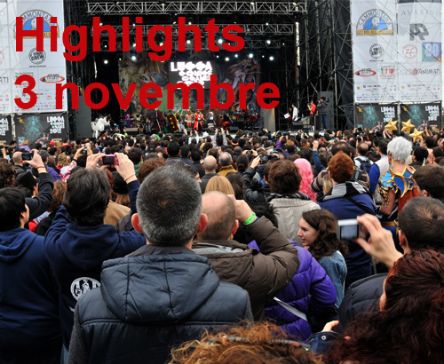 Highlights del 3 novembre 2012